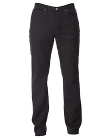 Dickies Button Fly Slim Jeans Black