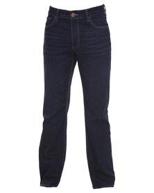 Dickies Texas Slim Straight Leg Jeans Blue