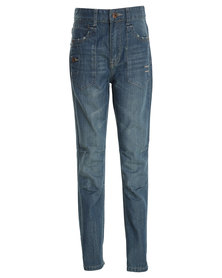 Dickies Aurora Denim Pant Blue
