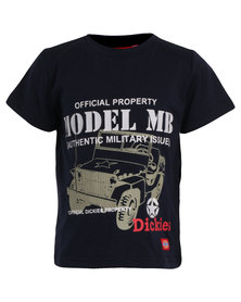 Dickies Military Issue Tee Blue