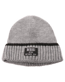Dickies Turn Up Knit Beanie Grey