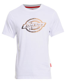 Dickies Cortez Crew Neck T-Shirt White