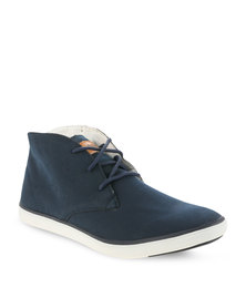 Dickies Maxwell Lace-Up Sneakers Navy
