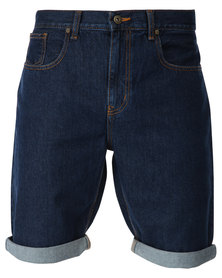 Dickies Texan Denim Shorts Blue