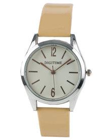 Digitime Timeless Watch Natural