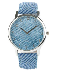 Digitime Denim Watch Blue