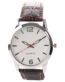 Digitime Twist Classic Watch Brown