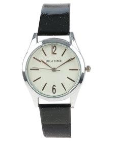 Digitime Timeless Watch Black
