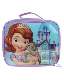 Disney Sofia the First Lunch Bag Purple