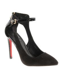 Diva Lauren High Heels Black
