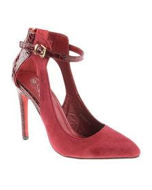 Diva Lauren High Heels Red