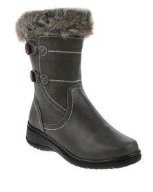 DR Hart Evelina Mid Boot Grey
