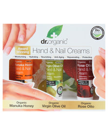 Dr. Organic Hand and Nail Cream Gift Pack