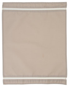 Dreyer Linen Stone Twill Place Mats with Ladder Lace