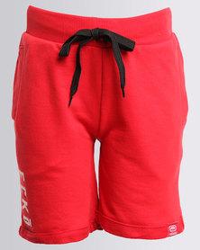 ECKÓ Unltd Boys Fleece Shorts Red