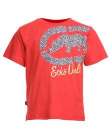 ECKÓ Unltd Printed Tee Red