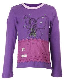 Eco-Punk Fairy Top Purple
