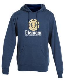 Element Vertical Hoodie Navy
