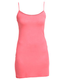 EMPTY Chemise Coral Pink