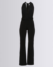 Eve Emporium Multi-Way Jumpsuit Black
