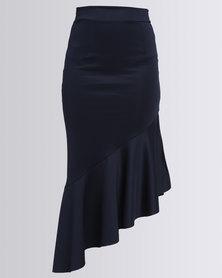 Eve Emporium Mermaid Skirt Navy