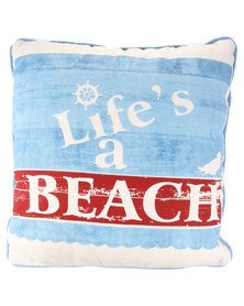 Fabricor Beach Time Life Cushion Multi