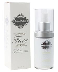 Fake Bake Platinum Face Anti-aging Self-tan Lotion 60ml