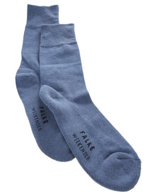 Falke Weekender Cushioned Socks Blue