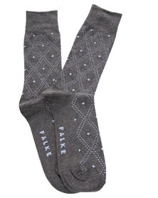 Falke Diamond Design Socks Grey