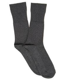 Falke Zero Pressure Socks Charcoal