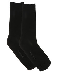 Falke Soft Cotton Sensitive Socks Black