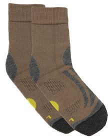 Falke Hike 4 Wool Socks Brown