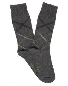 Falke Criss Cross Socks Grey