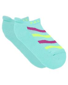 Falke Performance Ladies Gym Zebra Training Socks Blue