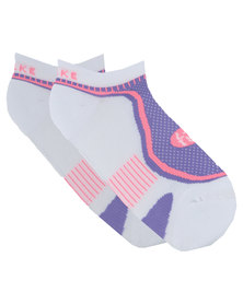 Falke Performance Ultra Lite Hidden Socks White