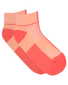 Falke Performance Two Tone Runner Socks Orange