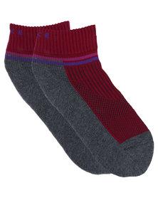 Falke Performance Trail Run Socks Grey/Red