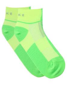 Falke Performance Two Tone Runner Socks Green