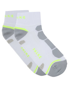 Falke Performance Pro Cycling Socks White