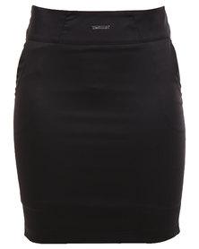 Perfect Fit Office Suit Skirt Black
