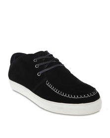 Firenze Whipstitch Sneakers Black