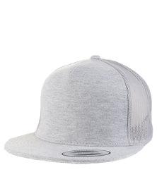Flex fit Classic Trucker Cap Grey Melange