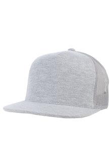 Flex fit Classic Trucker Cap Grey