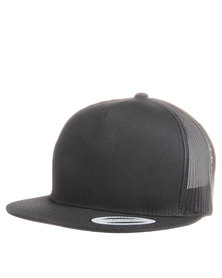 Flex Fit Classic Trucker Cap Black