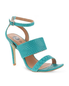 Footwork Heeled Sandals Turquoise