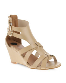 Footwork Wedge Sandals White