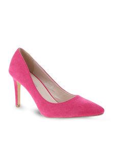 Footwork Pointed High Heels Pink