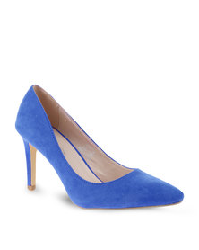 Footwork Pointed High Heels Blue