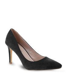 Footwork Pointed High Heels Black