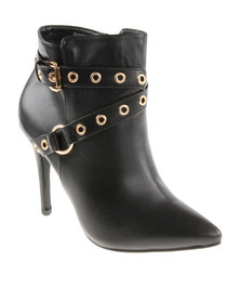 Footwork Giselle Ankle Boots Black